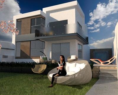 Espectacular Residencia Minimalista En Excelente Ubicación