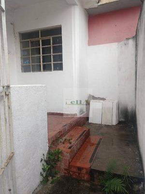 Casa Com 1 Dormitório Para Alugar, 40 M² Por R$ 750/mês - Quitaúna - Osasco/sp - Ca0165