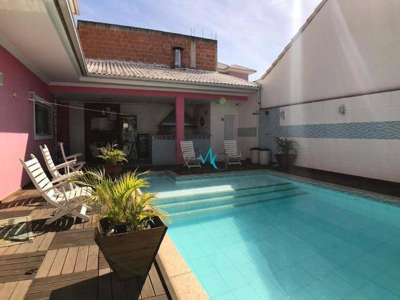 Casa Com 3 Dormitórios À Venda, 500 M² Por R$ 2.500.000,00 - Campo Grande - Rio De Janeiro/rj - Ca0456