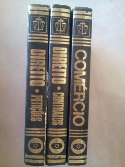 3 Livros Antigo (coleçao Livro De Ouro)