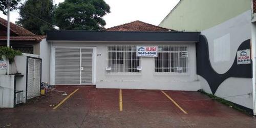 Imagem 1 de 15 de Locação Térrea Comercial - Chácara Santo Antônio, São Paulo-sp - Rr4474