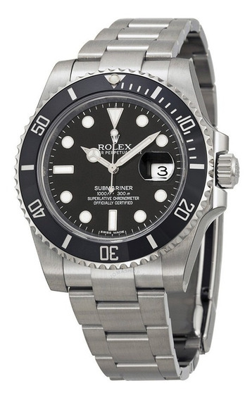 Relógio Rolex Submariner Date Preto 116610ln