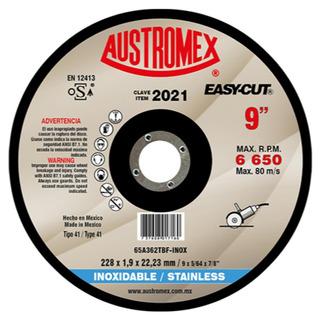 Disco Acero Inox 9 Aux2021 Austromex