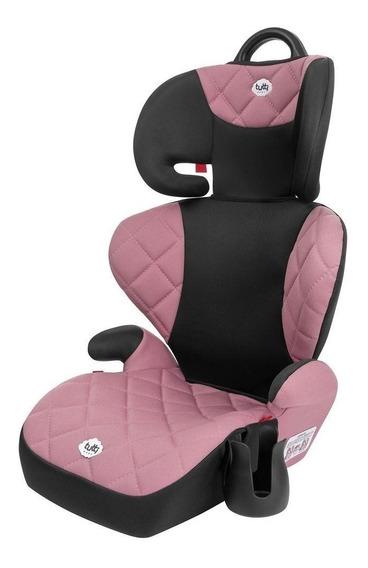 Cadeirinha Carro Bebe Vira Assento Elevado Elevação Infantil Rosa Tutti Baby