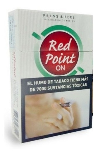 Cigarrillos Red Point Convertibles Pack Por 10