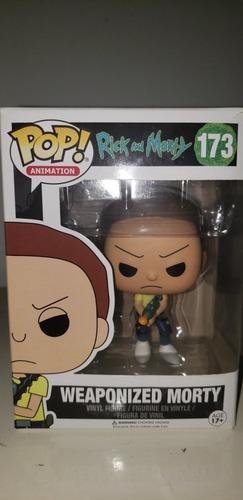 Funko Pop: Weaponized Morty #173 Original