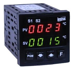 Controlador Digital Temperatura + Sensor Tipo J Inv40003