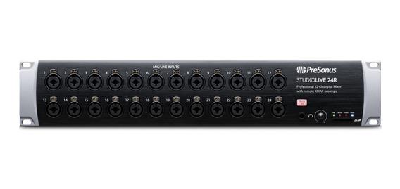 Mixer Digital De Rack Presonus Studiolive 24r Lacrado!