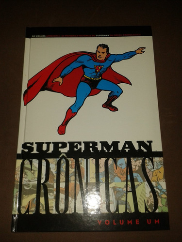 Superman Cronicas Numeros 1-2-3 Completa 3 Volumes Panini
