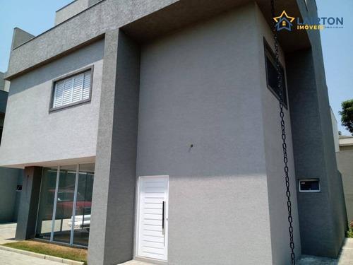 Imagem 1 de 15 de Casa Com 4 Dormitórios À Venda, 240 M² Por R$ 1.250.000,00 - Vila Petrópolis - Atibaia/sp - Ca1284