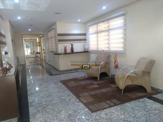 Apartamento Com 3 Dormitórios À Venda, 85 M² Por R$ 670.000 - Anália Franco - São Paulo/sp - Ap2449