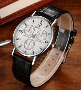 Relógio Luxo Masculino Geneva | Pulseira Clássico