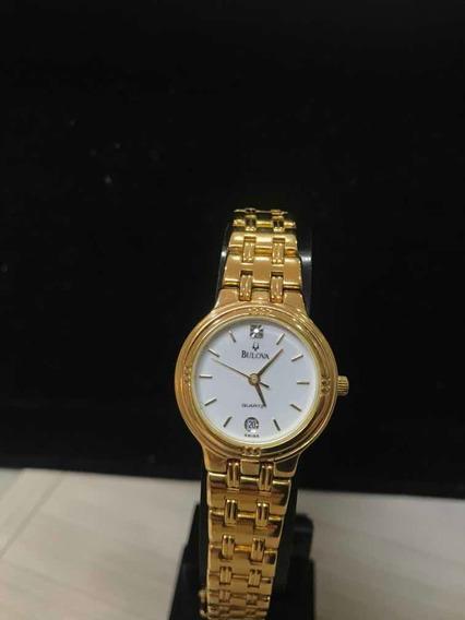 Relógio Feminino Bulova Dourado