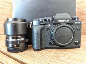Kit Câmera Fujifilm X-t3 + 50mm F2r Wr