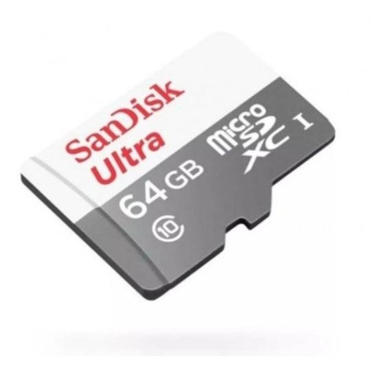 Micro Sd 64gb Classe 10 Ultra - Sandisk - Original