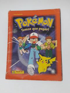 Álbum Figurinhas Pokémon Completo 1999 Raridade Com Pôster