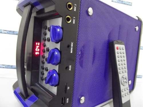 Caixa Som Bluetooth 150w Rms Amplificada Rca Fm Frete Grátis