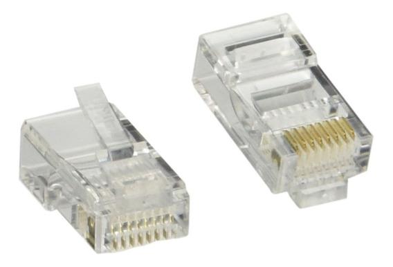 Conectores Rj45 Cat5e 100 Unidades
