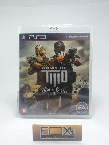 Ps3 Jogo Army Of Two The Devil