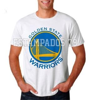 Remera Golden State Warriors Basquetbol Basketball