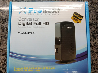 Deco Sintonizador Digital Xt 34 Pronext Tda 1080p