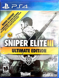 Sniper Elite 3 Ultimate Edition Ps4 Físico