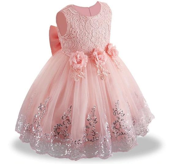 Vestido Aniversário Infantil Princesa Florista Festa Oferta