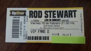 Entrada Para Ver A Rod Stewart