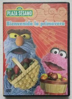 Dvd Plaza Sesamo Bienvenida La Primavera
