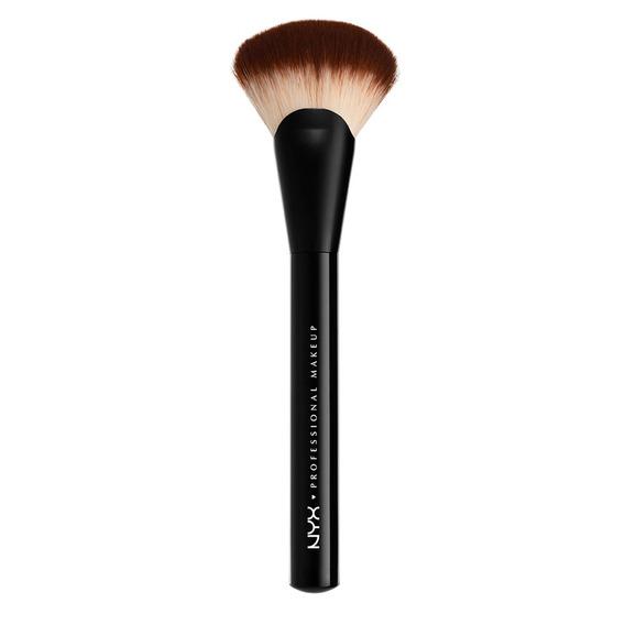 Brochas Maquillaje Profesional Rostro Fan Prob Brush Nyx