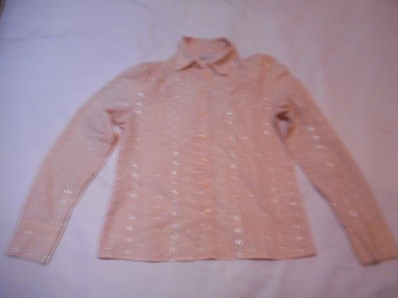 Camisa Brodery Rosa Bordada Sathya Talle 2