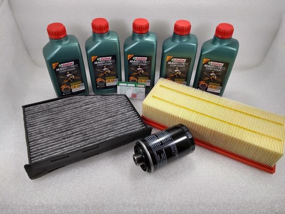 Troca Oleo Passat 2.0 Tfsi 2010/14 Cczb + Filtros Orig Vw