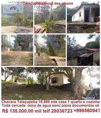 Chácara Residencial À Venda, Vila São Francisco, Mogi Das Cruzes. - Ch0004