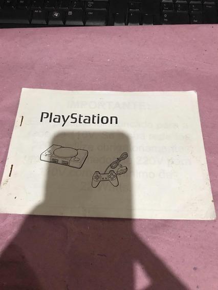 Manual Playstation Xerox