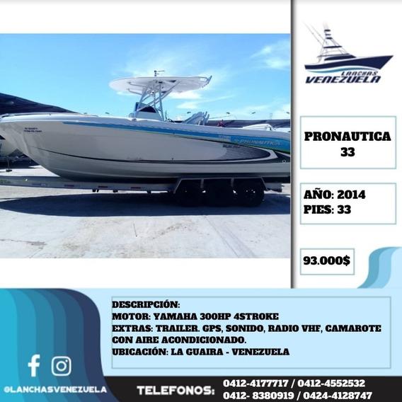 Lancha Pronautica 33 Lv580