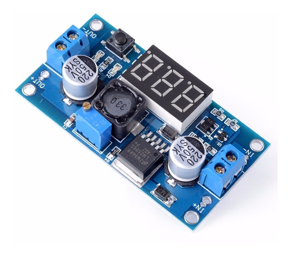 Lm2596 Regulador De Tensão Ajustavel Dc-dc Display Step-down