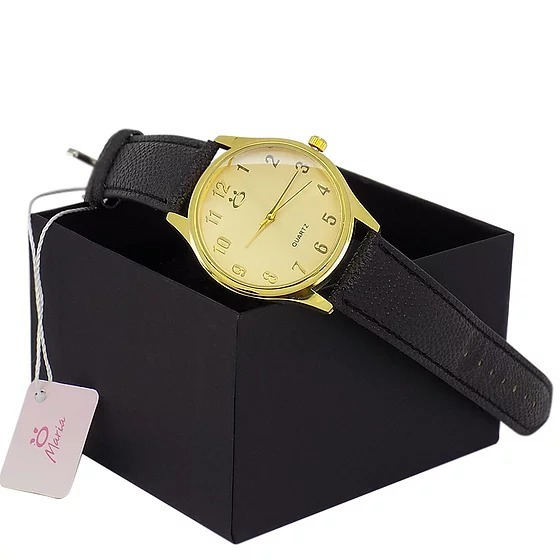 Relógio Feminino Pulseira De Couro Original Luxuoso