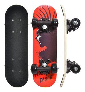 Skate Infantil Jr Radical Shape Com Lixa Completo Iniciantes