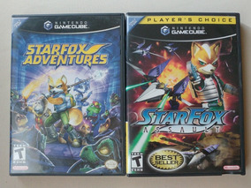 Starfox Assault + Star Fox Adventures Originais Americanos!