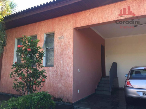 Imagem 1 de 14 de Casa Residencial À Venda, Jardim Primavera, Americana. - Ca1332