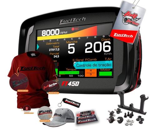 Fueltech Ft450 S/ Chic + Mega Brinde Camiseta Bordo Gel Bb