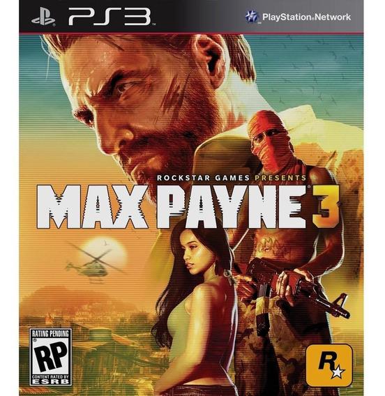 Max Payne 3 Play 3 Em Oferta