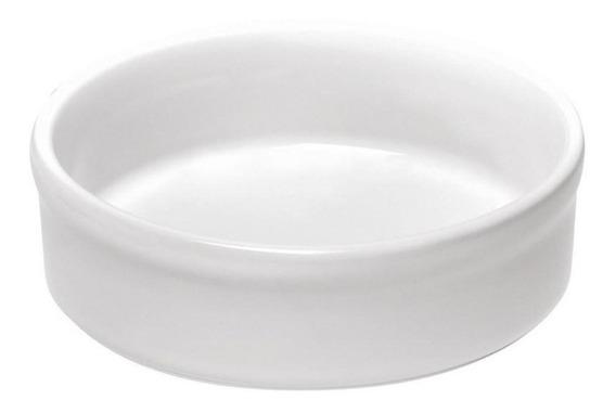 Molde Para Creme Brulee Color Blanco De 12cm