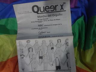 Queer 2006 Marcha Del Orgullo Madonna Diversa Cine Cyber Sex