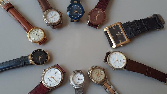 Relógios De Pulso Lote De Diversas Marcas - Não Funcionam
