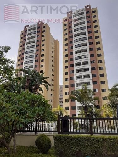 Imagem 1 de 30 de Apartamento Para Venda, 2 Dormitórios, Vila Andrade - São Paulo - 3469