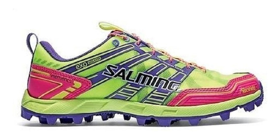 Zapatillas Salming Elements Trekking Running Dama Importada