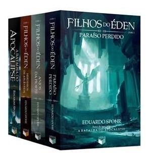 Kit De Livros Filhos Do Éden