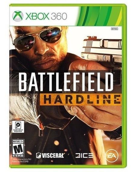 Battlefield Hardline (mídia Física 100% Pt-br) - Xbox 360