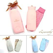 Environmental Silicone Transparent Hot Water Bag With Knit C